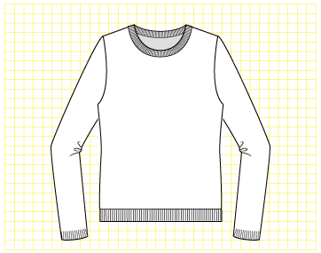 Butterscotch Pullover - Dynamic Pattern
