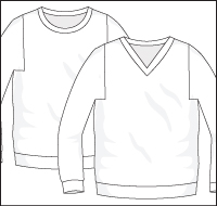 Cherry Pullover - Dynamic Pattern