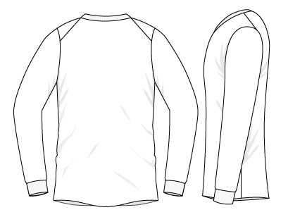 Marco's European Shoulder Pullover - Dynamic Pattern