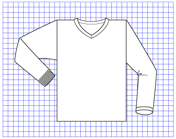Granite Pullover - Dynamic Pattern