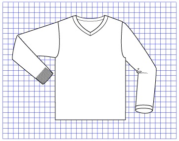 Gypsum Pullover - Dynamic Pattern