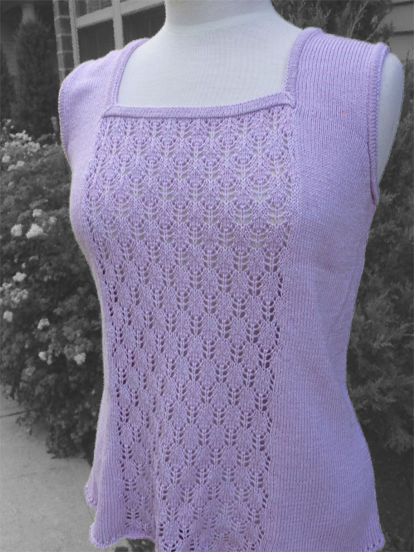 Bib and Tucker Sleeveless Tank - Dynamic Pattern