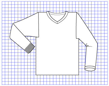 Lead Pullover - Dynamic Pattern