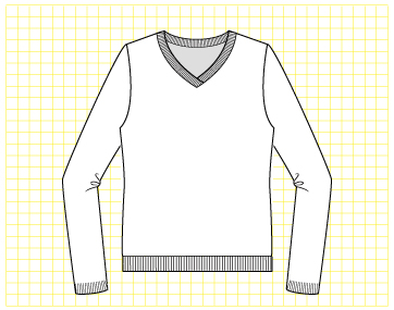 Lollypop Pullover - Dynamic Pattern