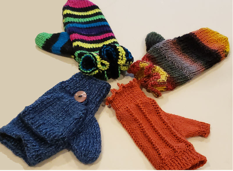 Mitten Collection - Dynamic Pattern