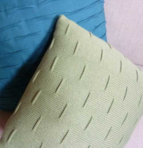 One Piece Square Pillow