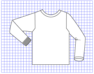 Quartz Pullover - Dynamic Pattern