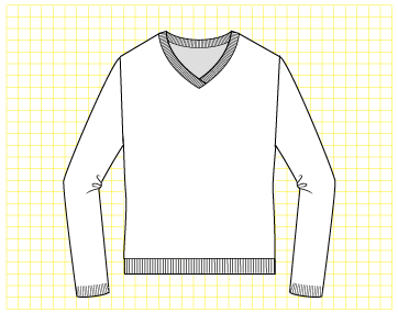 Snowcaps Pullover - Dynamic Pattern