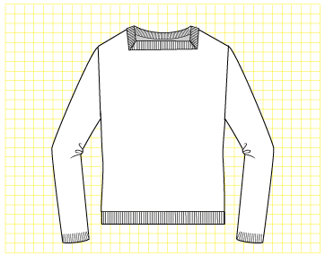 Toffee Pullover - Dynamic Pattern