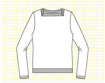 Tootsie Pullover - Dynamic Pattern