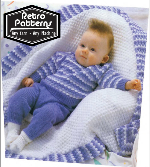 Tuck Baby Trio - Dynamic Pattern