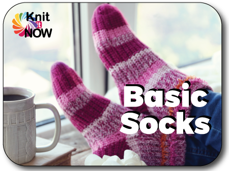 Basic Socks Knit In Now Course