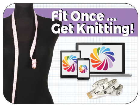 Fit Once ... Get Knitting! Knit In Now Course