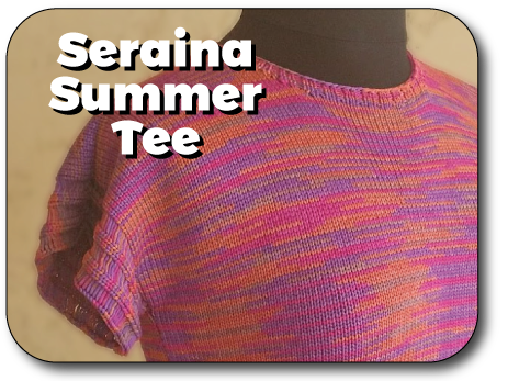 Seraina Summer Tee | Start to Finish Knit In Now Course