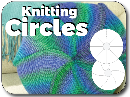 Pinwheel Circles - Shortrow Fun Knit In Now Course
