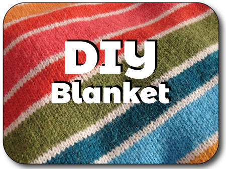 DIY Blanket Tutorial for Machine Knitting