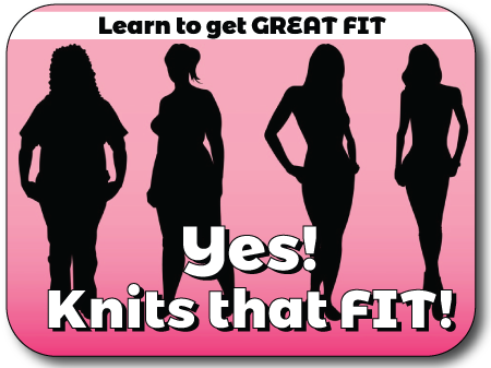 YES!! Knits that Fit! Knit In Now Course