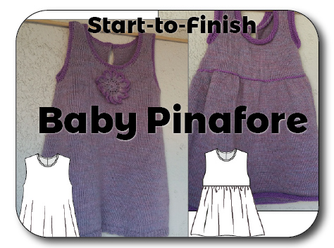 Baby Pinafores Knit In Now Course