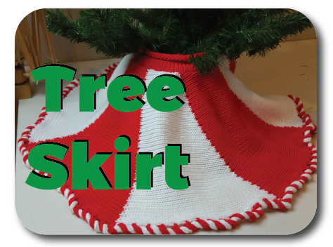 Christmas Tree Skirt Knit In Now Course