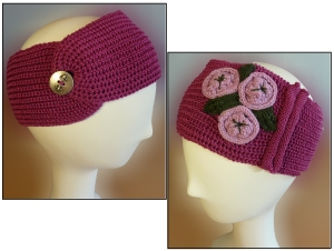English Rib Ear Warmer - Knit In Now Project