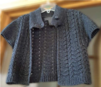 Vicki's Cardigan Knit In Now Course