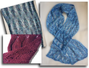 Magic Racked Scarf - Knit In Now Project