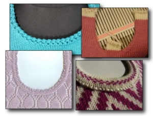 Round Neck Shaping Practice - Knit In Now Project