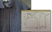 Vicki Cardigan - Stitch Patterns, Dimensions, Sizing lesson for Vicki's Cardigan Home Study Course
