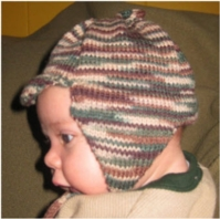 Newborn Visor Cap - Dynamic Pattern