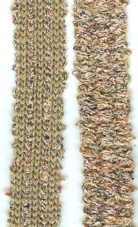 Two Color Woven Braid tutorial for Machine Knitting