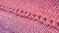Garter Eyelets Tutorial for Machine Knitting