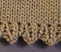 Best Ever Picot Hem Tutorial for Machine Knitting