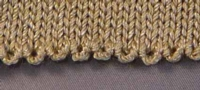 Looped Eyelet Edge Tutroial for Machine Knitting