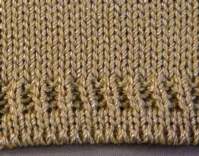 Fence Post Hem (Double Bed) Tutorial for Machine Knitting