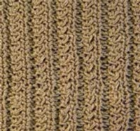 Reversible Furrows (Double Bed) Tutorial for Machine Knitting