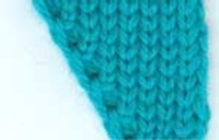 Short Row Increases and Decreases tutorial for Machine Knitting