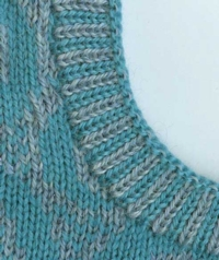 Cut N Sew - Fairisle Bands Tutorial for Machine Knitting