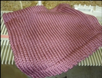 Hemmed Blanket Tutorial for Machine Knitting