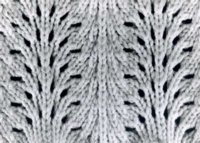 Hand Manipulated Lace Tutroial for Machine Knitting