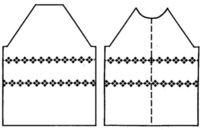 Matching Stitch Patterns in Garment Making Tutroial for Machine Knitting