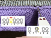 V-Neck Bands Tutorial for Machine Knitting