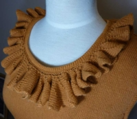 Shortrow Ruffle Tutorial for Machine Knitting