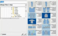 Using the new Thumbnail browser to find your shaping file Tutorial for Machine Knitting
