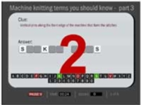 Machine Knitting Terms You Should Know - Quiz  II Tutroial for Machine Knitting