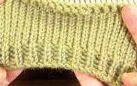 Basic Ribbing without a Ribber Tutroial for Machine Knitting
