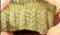 Decorative Cabled Ribbing on the Machine Tutorial for Machine Knitting