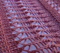 Crochet-look Lace Tutroial for Machine Knitting