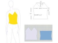 DAK - Design a Simple Camisole Tutorial for Machine Knitting