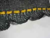 Simple Ruffle with Tensions tutorial for Machine Knitting