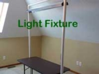Knitting Machine Lighting Fixture Tutorial for Machine Knitting